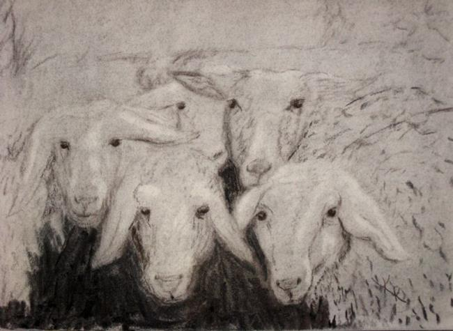 Art: The Welcoming Committee by Artist Kathleen Ralph