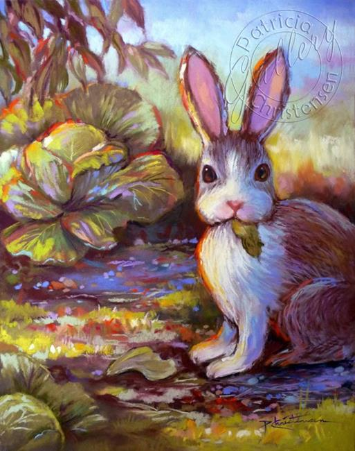 Art: Caught in the Act!  What to do...? by Artist Patricia  Lee Christensen
