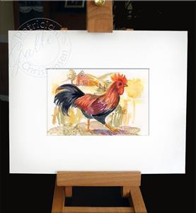 Detail Image for art Leghorn Rooster