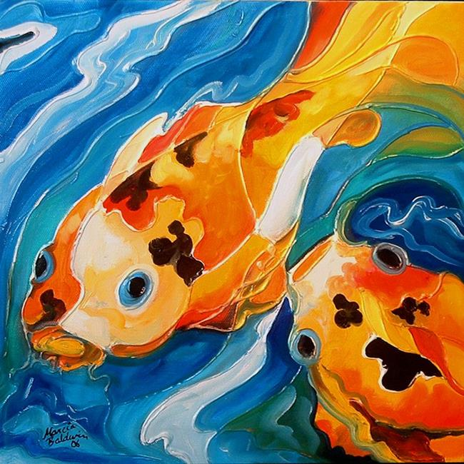 KOI ABSTRACT 5 - by Ma...