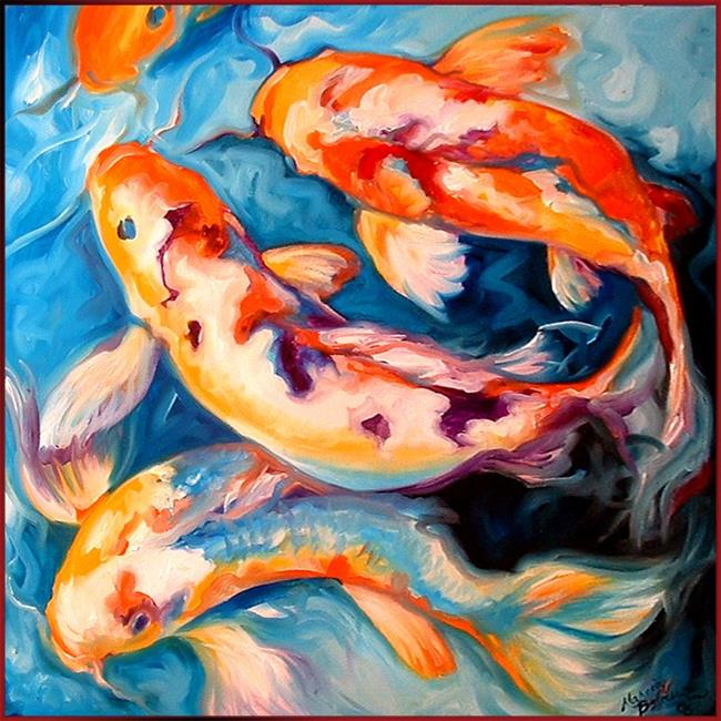 Koi toi by marcia baldwin from animals for Koi prints canvas