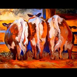 Art: HAPPY TAILS by Artist Marcia Baldwin