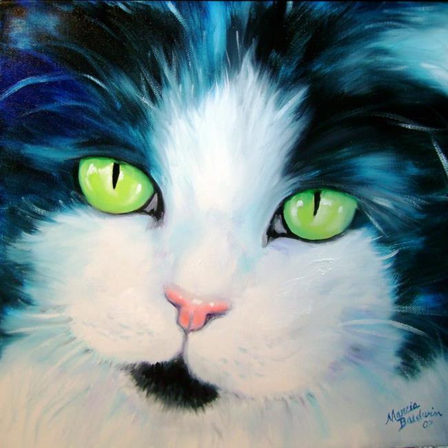 Art: SWEET KITTY DALILAH by Artist Marcia Baldwin
