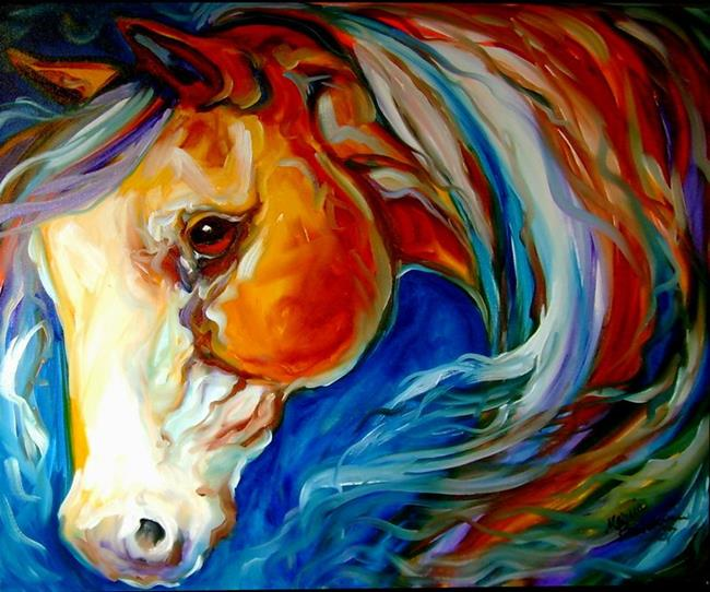 Art: WINDY by Artist Marcia Baldwin