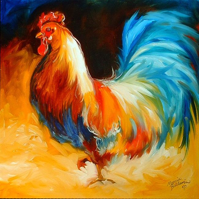 Art: Mister Rooster by Artist Marcia Baldwin