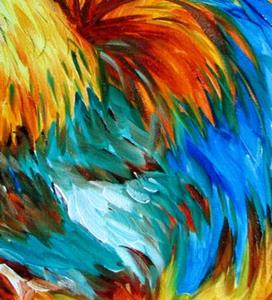 Detail Image for art ROO ROOSTER PROUD