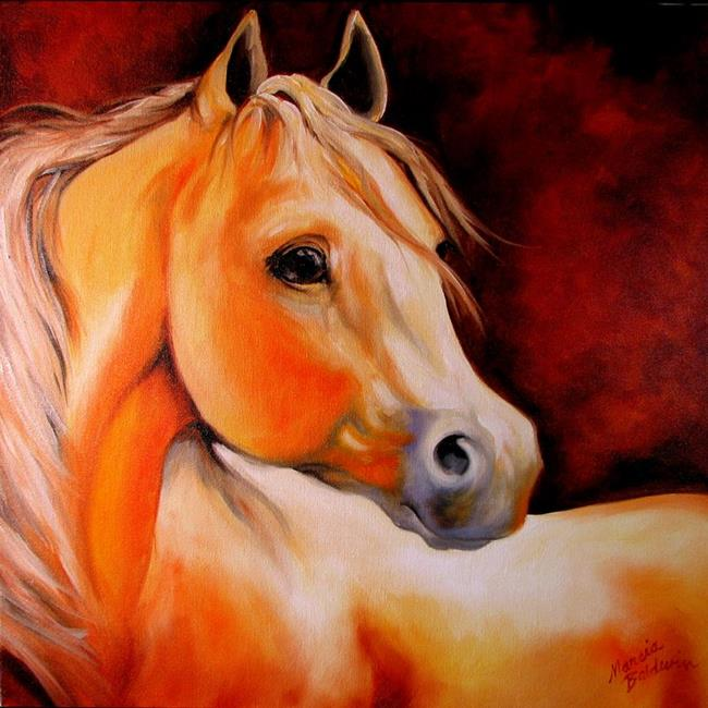 Art: YOUNG PAL by Artist Marcia Baldwin