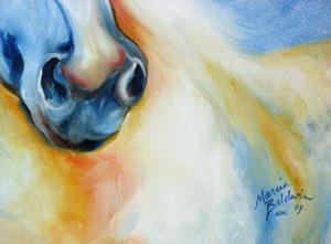 Detail Image for art CLOUD ~ EQUINE ART ORIGINAL