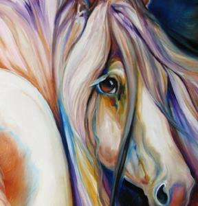 Detail Image for art GYPSY VANNER GLORY
