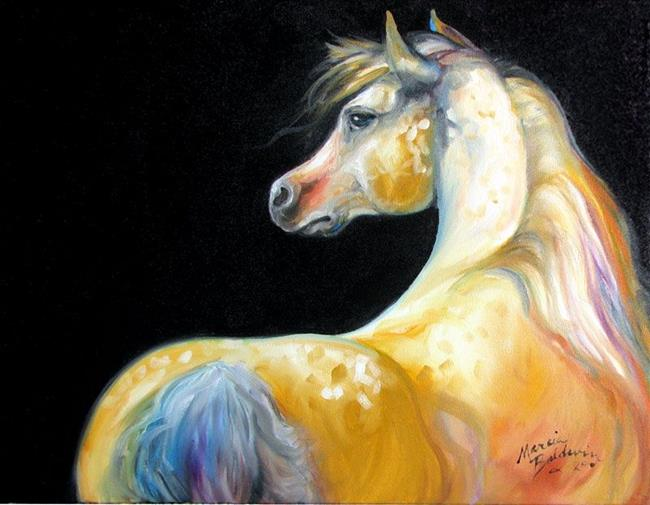 Art: MOONGLOW EQUINE by Artist Marcia Baldwin