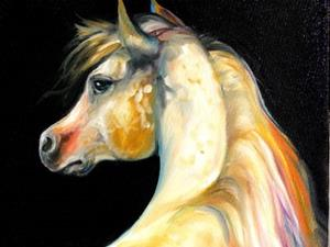 Detail Image for art MOONGLOW EQUINE