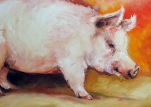Detail Image for art MY PINK OINK