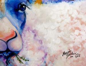 Detail Image for art BAA BAA & MAA SHEEP