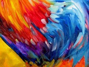 Detail Image for art COLOR SPLASH ROOSTER