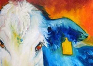 Detail Image for art BLUE BULL