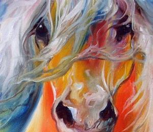 Detail Image for art BRIGHT DAY EQUINE