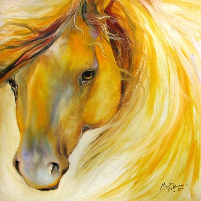 Art: GOLDEN GLORY by Artist Marcia Baldwin
