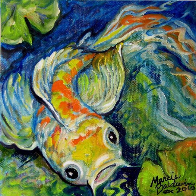 Art: MINI KOI by Artist Marcia Baldwin