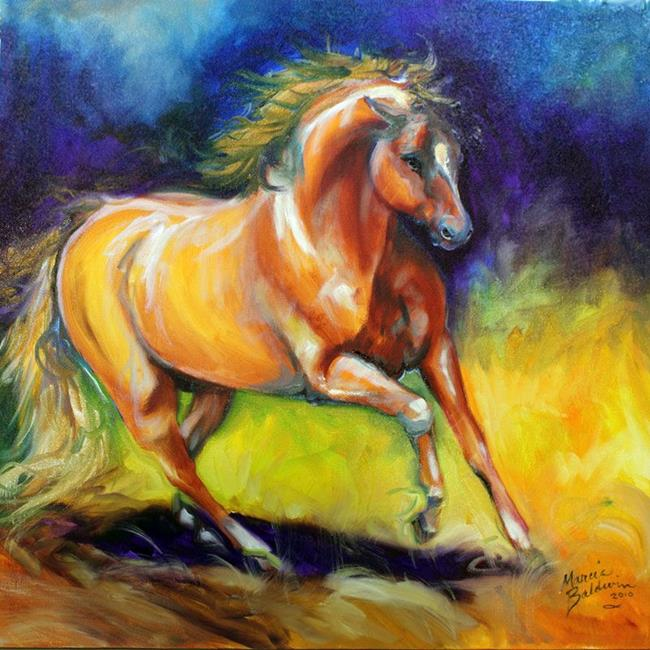 born free horse by marcia baldwin from abstract representational free horse 650x650
