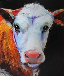 Art: A COW NAMED HENRY by Artist Marcia Baldwin