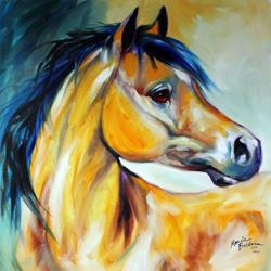 Art: FANCY the ARABIAN MARE by Artist Marcia Baldwin