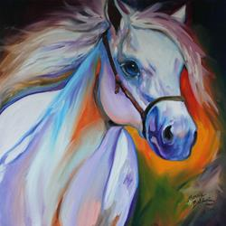 Art: SHOOTING STAR EQUINE by Artist Marcia Baldwin