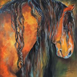 Art: MUSTANG PROVEN by Artist Marcia Baldwin