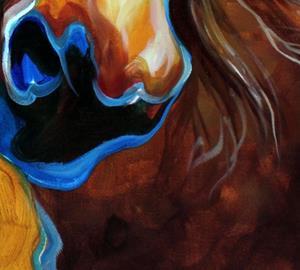 Detail Image for art WILD WEST BUCKSKIN