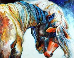Art: FOREVER FRIENDS by Artist Marcia Baldwin