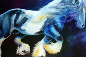Detail Image for art GYPSY VANNER STALLION II