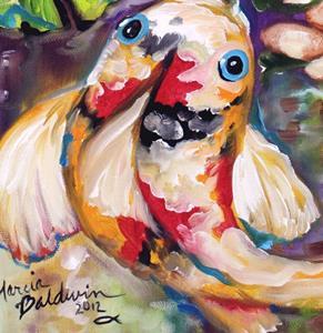 Detail Image for art KOI POND FOUR