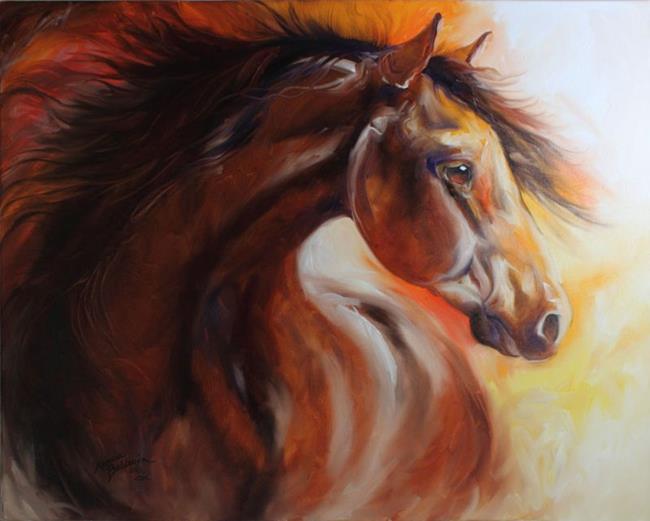 Art: THUNDERBOLT by Artist Marcia Baldwin