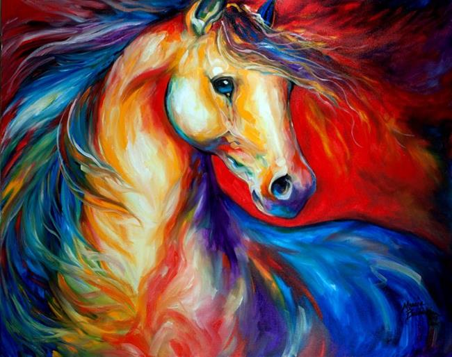 Red Stallion Ii By Marcia Baldwin From Animals