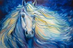 Art: STARDUST 3624 by Artist Marcia Baldwin