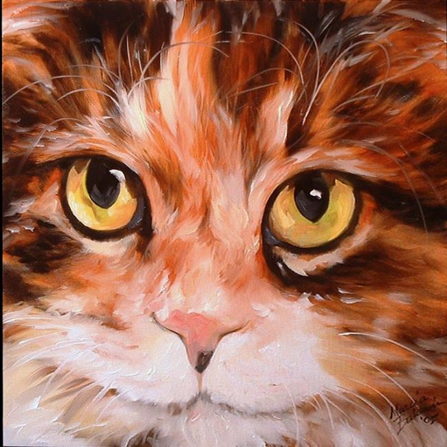 Art: SWEET KITTY CALLIE by Artist Marcia Baldwin