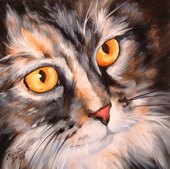 Art: SWEET KITTY ROMEO by Artist Marcia Baldwin