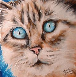 Art: SWEET KITTY JULIET by Artist Marcia Baldwin
