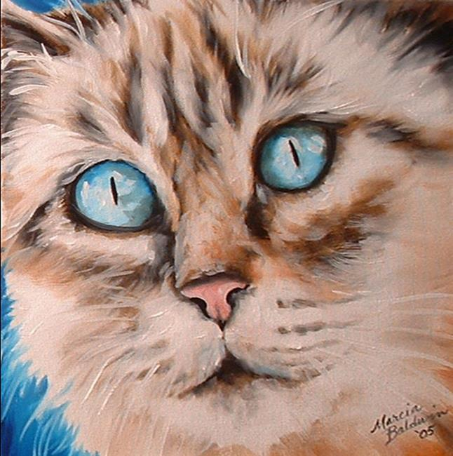 Art: SWEET KITTY JULIET by Artist Marcia Baldwin