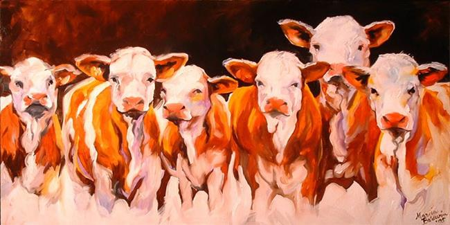 Art: THE DIRTY (HALF) DOZEN by Artist Marcia Baldwin