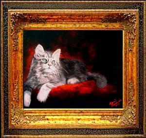 Detail Image for art Sweet Kitty Repose