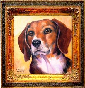 Detail Image for art Beagle Billy