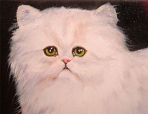 Detail Image for art Sweet Kitty Persian