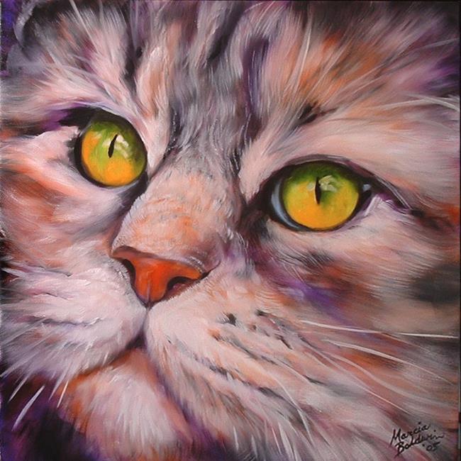 Art: MESMERIZED by Artist Marcia Baldwin