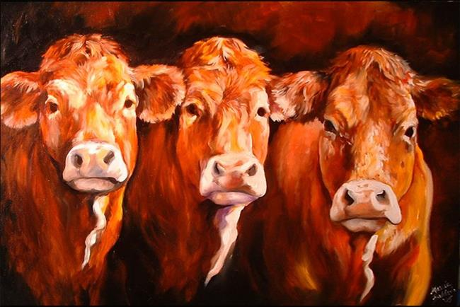 Art: THE GOOD, THE BAD, and THE UGLY by Artist Marcia Baldwin