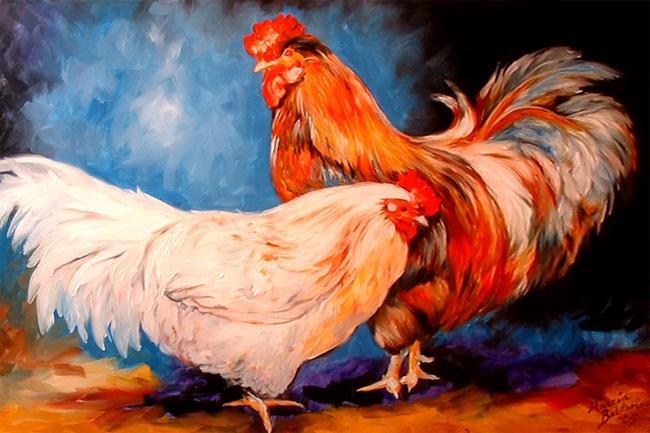 Art: MR.& MRS. by Artist Marcia Baldwin