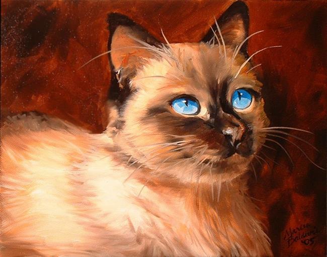Art: SWEET KITTY SAMMY by Artist Marcia Baldwin