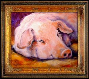 Detail Image for art PINK PIG