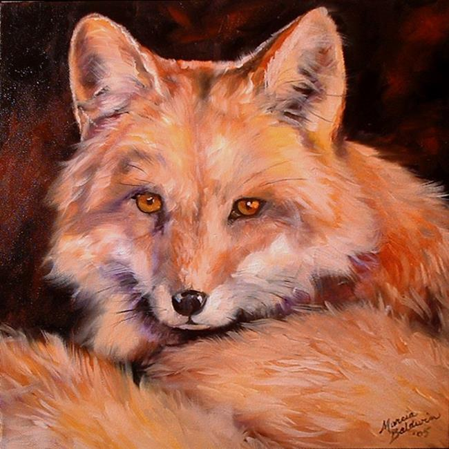 Art: FOX 10 by Artist Marcia Baldwin