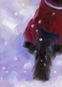 Detail Image for art Zeke's First Winter ~ Sold