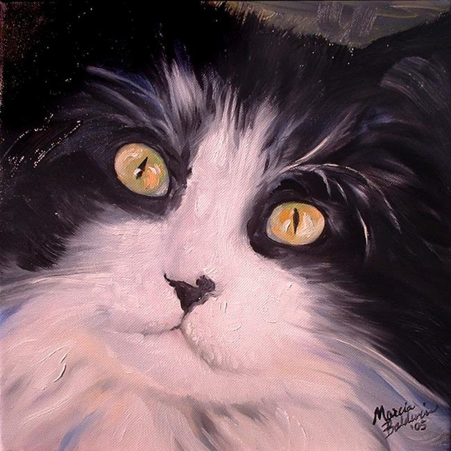 Art: Sweet Kitty Tux by Artist Marcia Baldwin